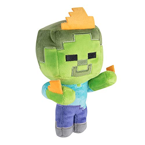 "Minecraft 8752 Happy Explorer Zombie On Fire 7"" - Peluche de Zombi de"