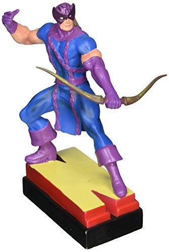Marvel Avengers Resin Figures - Hawkeye on Letter Base N