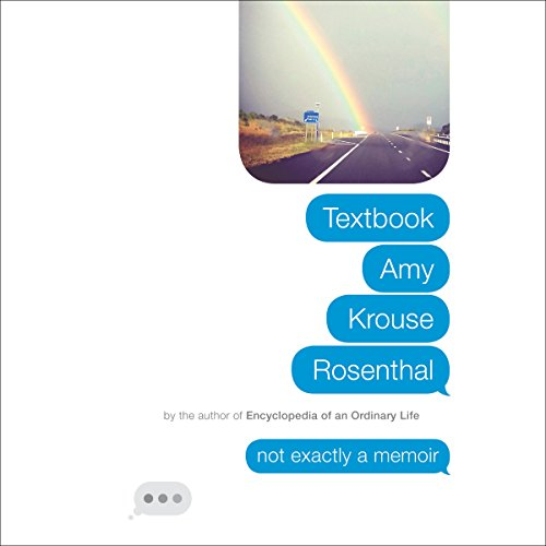 Textbook Amy Krouse Rosenthal audiobook cover art