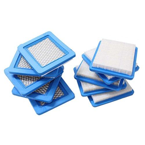 Beehive Filter Packung mit 10 Stück Luftfilter für Briggs & Stratton 491588 491588S 4915885 399959 John Deere PT15853