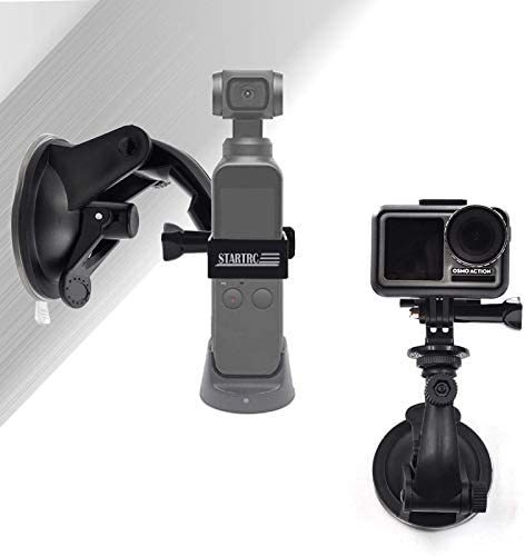 STARTRC OSMO Pocket Suction Cup Mount Full Rotation Car Windshield Window Mount for DJI OSMO product image