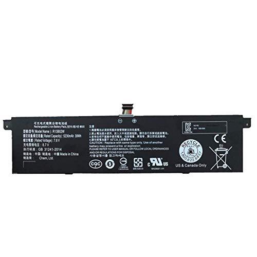 "Hubei R13B01W R13B02W Batteria del Computer Portatile Laptop per Xiaomi Mi Air 13.3""(7.6V 39Wh)"