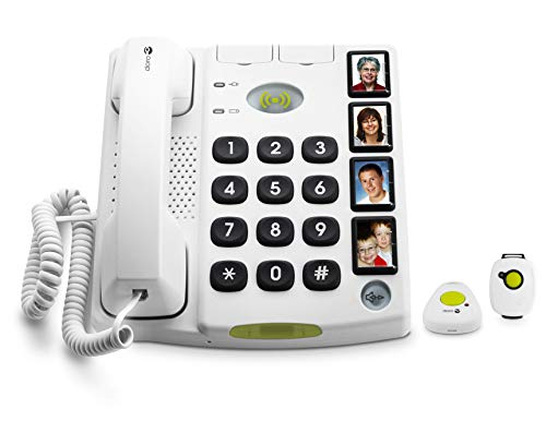 Doro Secure 347 Telefono Fisso per Anziani e Persone...
