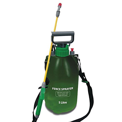 Garden Pressure Sprayer KNAPSACK WEEDKILLER Chemical Fence Water Spray...