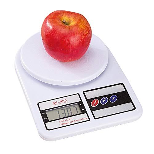 Báscula de Cocina 10 Kg Digital Gramera Alta Precisión | fácil de operar | Balanza portátil de Alta Calidad | Multiusos | proteje la salud de la Familia