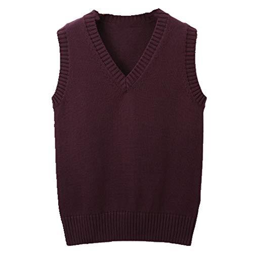 Mujer Chaleco Invierno Chalecos V-cuello Punto Primavera Abrigo de Punto Para las Mujeres Suéter
