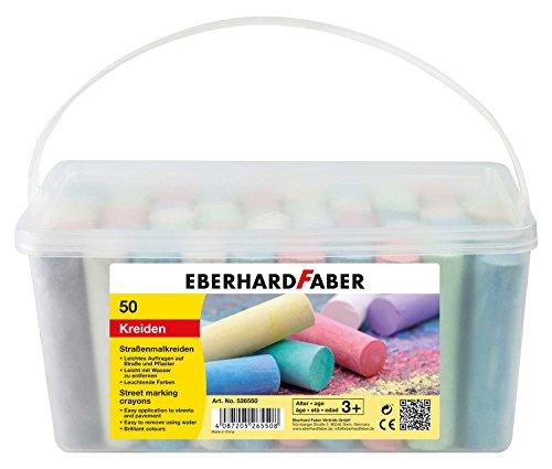 Eberhard Faber 526550 - Straßenmalkreide, 50er Eimer