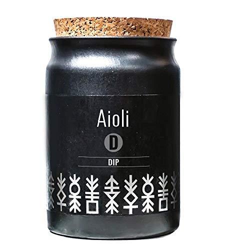 Greenomic Aioli 65 g DIP Gewürzmischung im Tontopf mit Korkverschluss