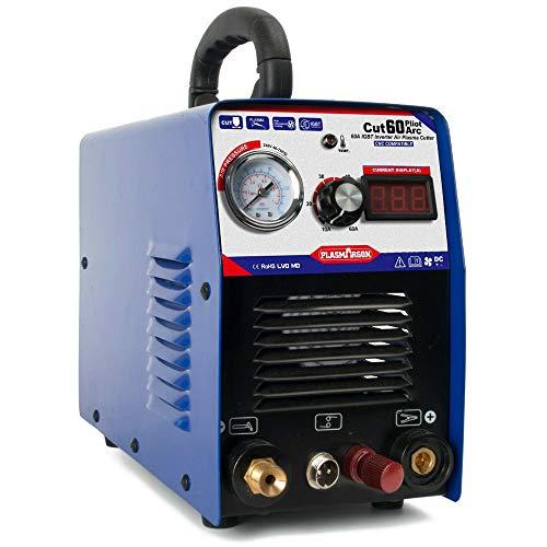 プラズマカッター エアープラズマ切断機 インバーター デジタル切断機 CUT60P非接触式トーチ 最大切断18mm 200v 【送料無料】