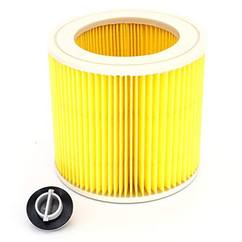 2 cartucce filtro per aspirapolvere Kärcher WD3 Premium WD2 WD3 WD 3 MV3 WD 3 MV3 WD 3 P Extension Kit
