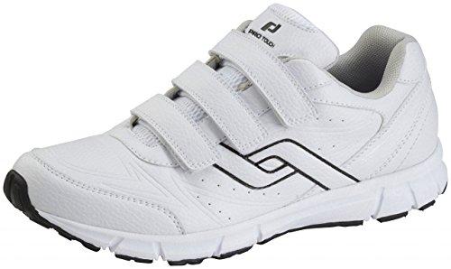 Pro Touch Herren Walking-Schuh City Trainer VLC Walkingschuhe, Weiß (Weiß 000), 40 EU