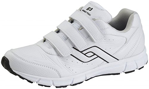 Pro Touch Herren Walking-Schuh City Trainer VLC Walkingschuhe, Weiß (Weiß 000), 42 EU