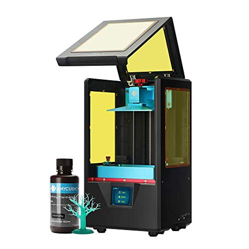 ANYCUBIC Photon S 3D Printer, UV LCD Resin Printer with Dual Z-axis Linear Rail and Upgraded UV...