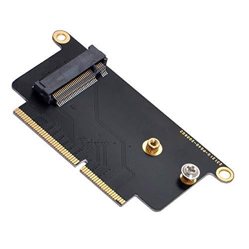 """Xiwai M.2 NGFF M-Key NVME Adaptador de tarjeta SSD para 2016 2017 13"""" A1708 A1707 A1706"""