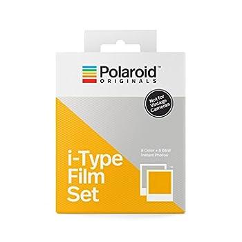 Polaroid Originals i-Type Two-Pack Film Set  1 Color + 1 B&W