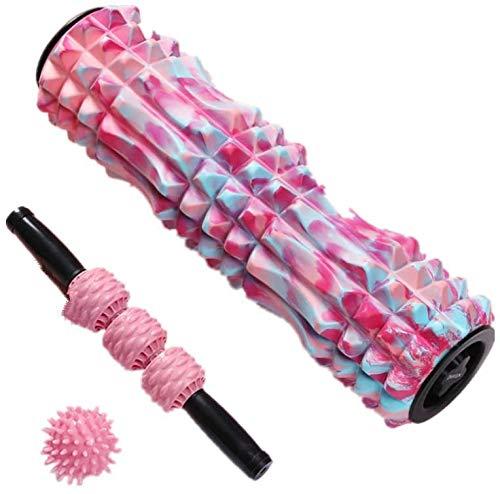 Fitness Foam Roller Schaumstoffrolle Für Muskelmassage 2-In-1-Muskel-Foam Roller Rumble Set Zum Übung Im Aching Beine Und Körper