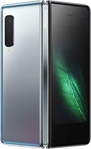 Samsung Galaxy Fold SM-F900F Single Sim 512GB 12GB RAM GSM Only, No CDMA - International Version (Space Silver)