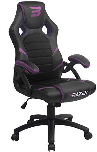 BraZen Puma PC Gaming Chair - Purple