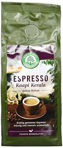 Lebensbaum Espresso Kaapi Kerala, Bohne, demeter, 3er Pack (3 x 250 g)