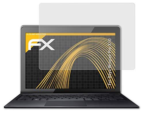 atFolix Panzerfolie kompatibel mit Odys Winpad Pro X10 Schutzfolie, entspiegelnde & stoßdämpfende FX Folie (2X)