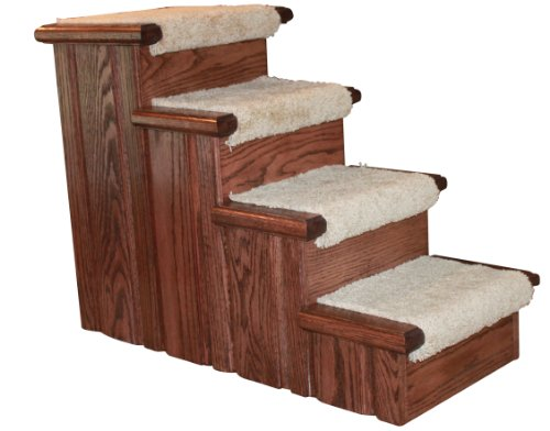 Premier Pet Steps Tall Raised Panel Dog Steps,...