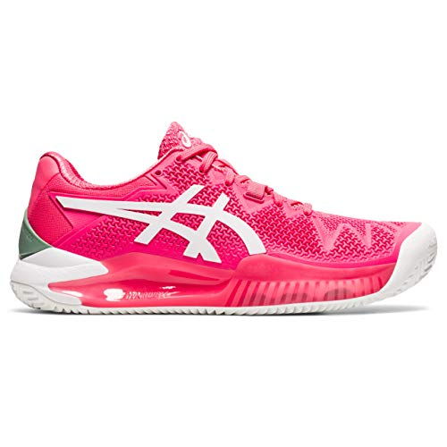 ASICS Gel-Resolution 8 Clay, Zapatos de Tenis Mujer, Pink Cameo White, 40.5 EU