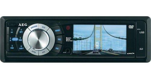 AEG AR 4023 Autoradio (7,6 cm (3 Zoll) LC-Display, SD Kartenslot, USB) schwarz
