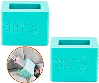 Seat Belt Buckle Holder Cover for Kids - Build Confidence They Can Do Their Own Seatbelt and Remove All Frustrations When ...