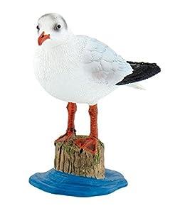 Spielfigur Vogel Motiv: Möwe Größe: ca. 8 cm hergestellt aus PVC - freiem Material liebevoll, naturgetreu und mit vielen Details von Hand bemalt