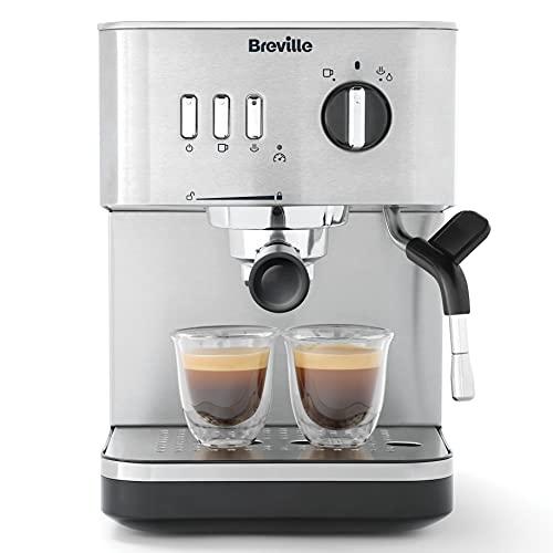 Breville Bijou Espresso Machine | Automatic and Manual Espresso, Cappuccino...