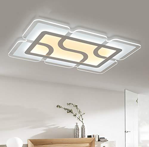 WWLONG Deckenleuchte LED-Licht halb eingebettet Chrom Kreative Persönlichkeit Kristall ultradünne...