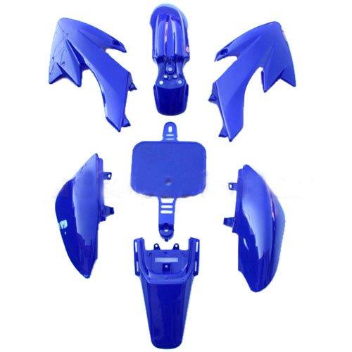 Plastic Body fairing Kit for HONDA CRF 50 XR 50 CRF50 XR50 Style 50 cc 70cc 90 cc 110cc 125 cc Pit Bike Dirt Bikes (Blue)
