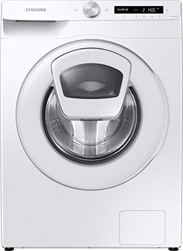 Samsung WW80T554ATW/S2 Waschmaschine / 8 kg / 1400 U/min / A+++ / Weiß / SchaumAktiv / AddWash / WiFi-SmartControl