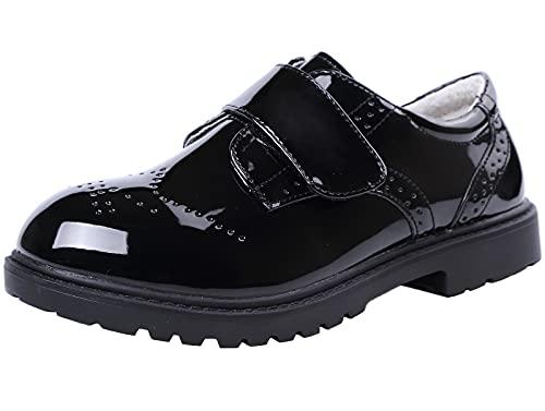 DADAWEN Zapatos de traje para niños, para la escuela, uniforme, fiestas, bodas,...