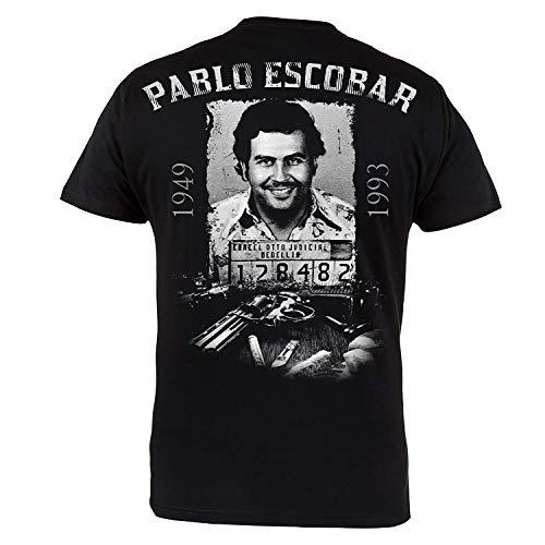 Mafia Hardcore ROPA camiseta PABLO escobar. El PATRULLA DEL MAL. Regla revés. gamberro. Informal Desgaste
