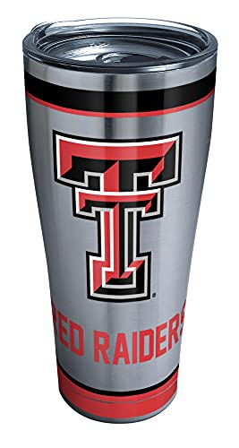 Tervis Insulated Tumbler with Hammer Lid, 30 oz Stainless Steel, Silver