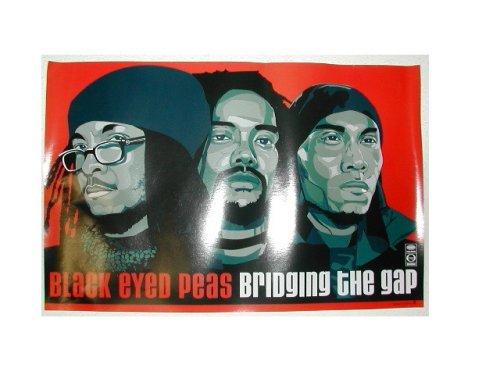 Black Eyed Peas Promo Poster Bridging the Gap Blackeyed