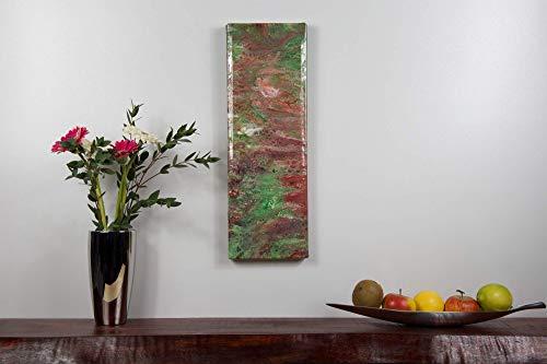 abstraktes Unikat | Acrylbild Epoxidharz beschichtet