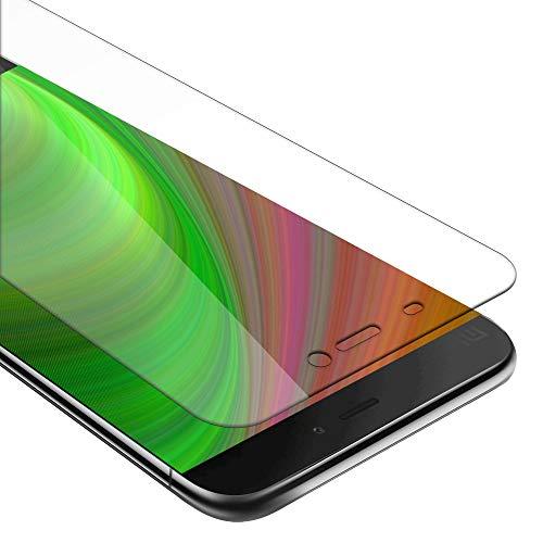 Cadorabo Panzer Folie für Xiaomi Mi 5 - Schutzfolie in KRISTALL KLAR – Gehärtetes (Tempered) Bildschirm-Schutzglas in 9H Festigkeit mit 3D Touch Glas Kompatibilität
