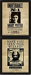 Pyramid International Harry Potter/Sirius 3D Lenticular Poster, Black, 10 x 8