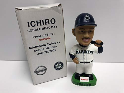 Ichiro Suzuki Seattle Mariners ROOKIE 2001 Limited Edition Bobblehead SGA