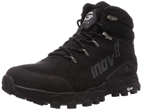 Inov-8 Mens Roclite Pro G 400 - Lightweight Waterproof Hiking Boots - Black - 10