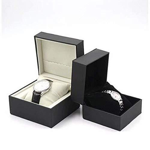 GFF Pu Leder Quadrat Geschenk Uhr schmuckschatulle uhrenschatulle