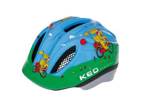 KED Meggy Original - Casco de Ciclismo Infantil, Color Multicolor, Talla XS (44-49 cm)