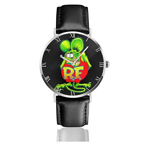 Rat Fink Teens Niños Estudiantes Relojes de Regalo Reloj de Moda Ultrafino