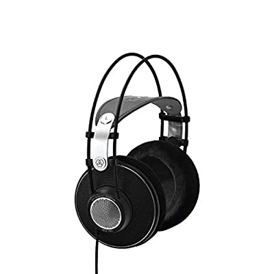 AKG Open-Back, Over-Ear Premium Studio Reference Class Studio Headphones
