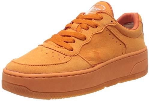 s.Oliver Damen 5-5-23674-24 Sneaker, Orange (ORANGE 606), 39