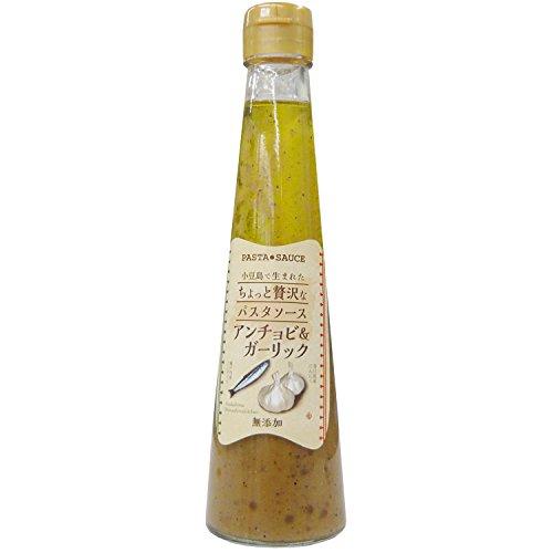 キンダイ製麺 小豆島で生まれたちょっと贅沢なパスタソース アンチョビ&ガーリック 200ml