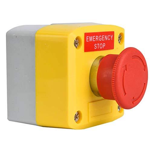 Interruptor de parada de emergencia SP-A001 ABS a prueba de polvo aislado con señal roja para trabajar en entornos de -40 ℃ ~ 120 ℃