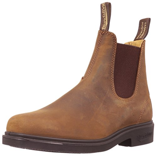 BLUNDSTONE Chisel Toe 062, Unisex-Erwachsene Chelsea Boots, Braun (Brown), 43 EU (9 UK)
